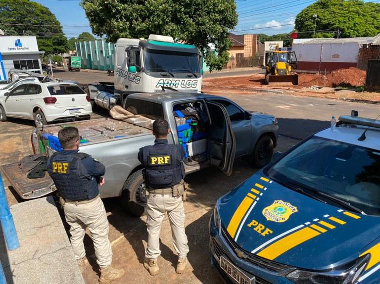 PRF faz apreensão em Itaquiraí (MS)