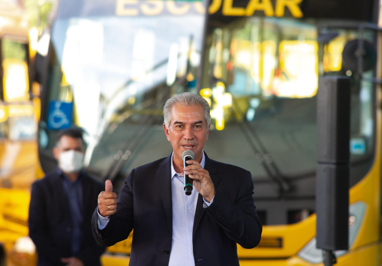 Governador Reinaldo Azambuja agradeceu empenho de parlamentares e entrega feita com elogios a Milton Ribeiro