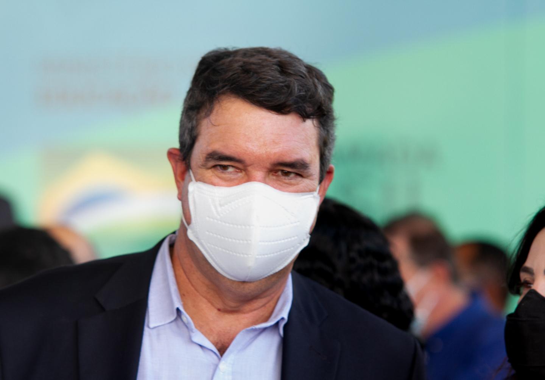 O secretário de Infraestrutura Eduardo Riedel