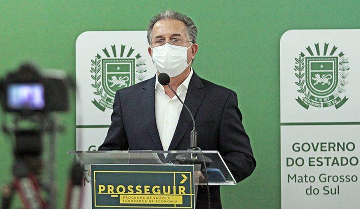 O secretário de Governo e Gestão Estratégica, Sérgio Murilo.
