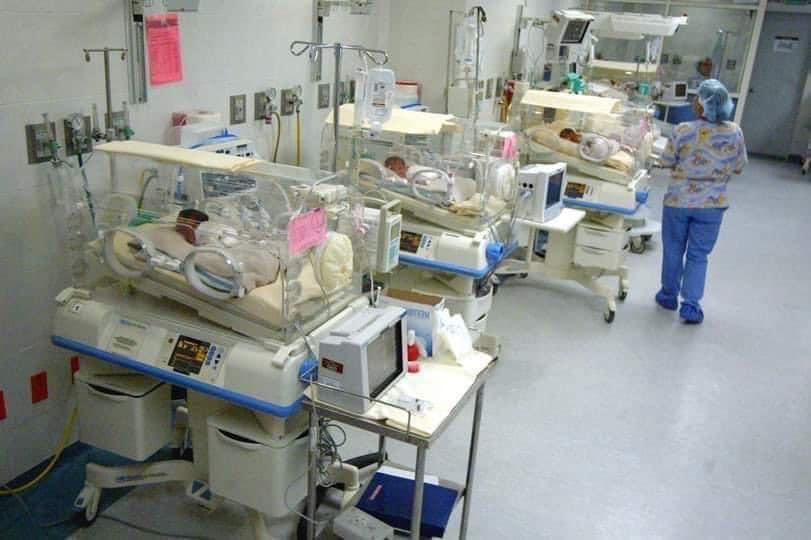 A clínica onde os bebês estão em Marrocos.