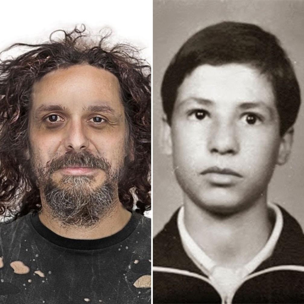 Família fez imagem de como Marco Aurélio estaria hoje; hipótese é de que ele viva como andarilho  Foto: Arquivo Pessoal