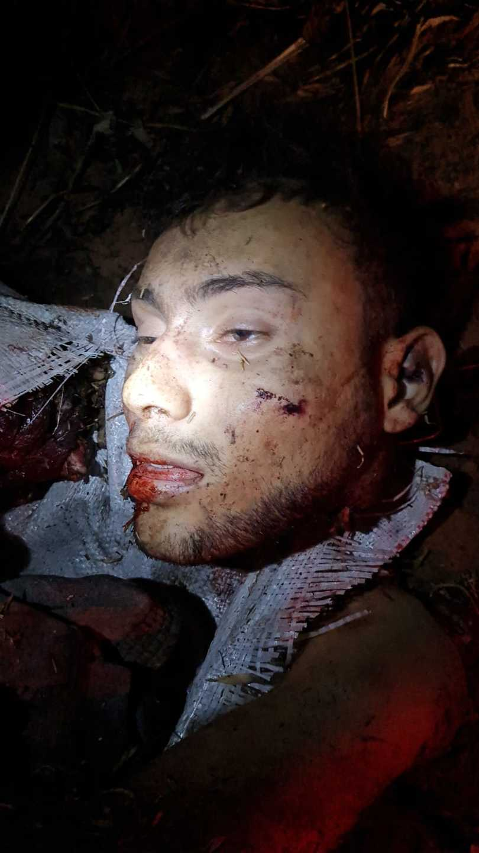 Cabeça decapitada de Eduardo.