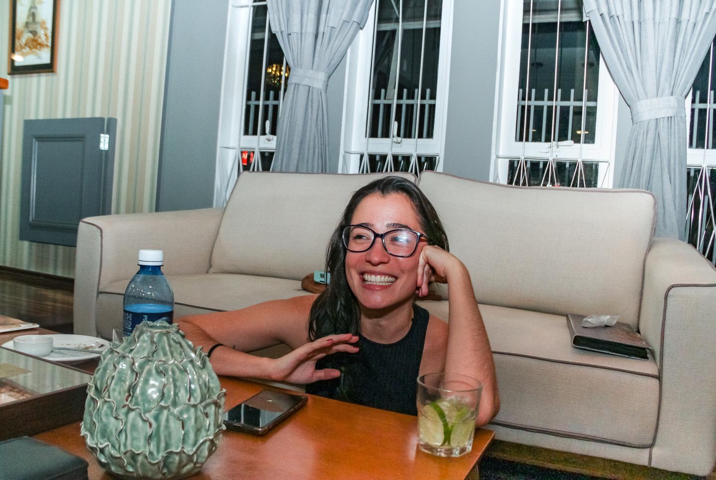 Ligia conta que ao lado de Kelly produzem com maior liberdade e respeito. Foto: Tero Queiroz