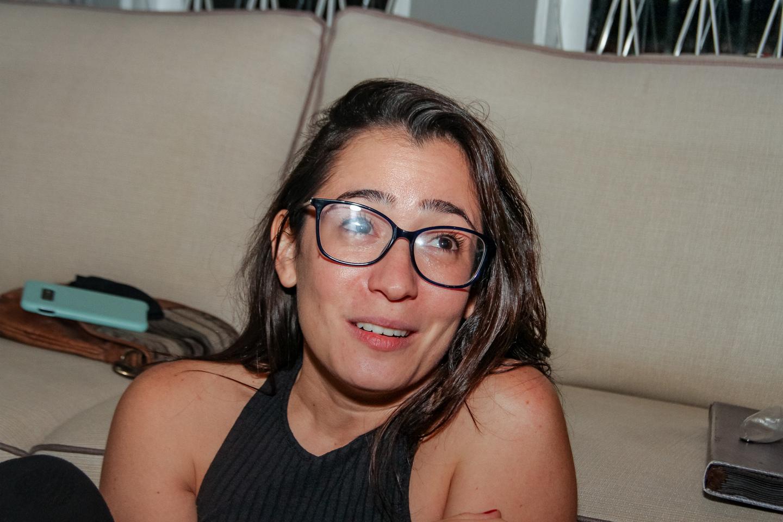 Ligia fala que aprendeu muito nos seis anos de Grupo de Casa. Foto: Tero Queiroz