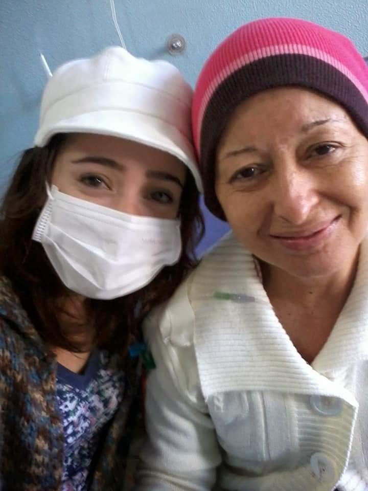 Nildes foi diagnosticada com Leucemia. Foto: Arquivo pessoal
