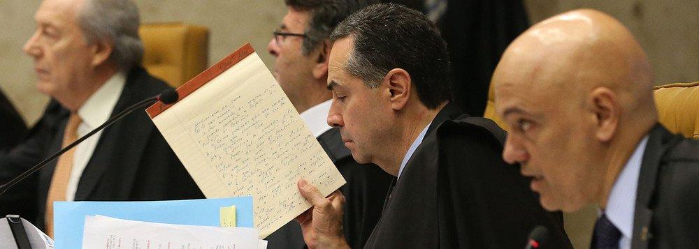 Sem foro previlegiado; maioria no STF vota a favor da restrição