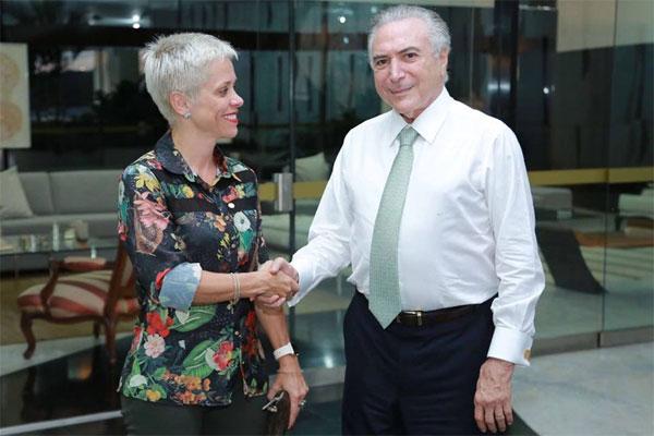 Resultado de imagem para CRISTINA BRASIL MINISTRA